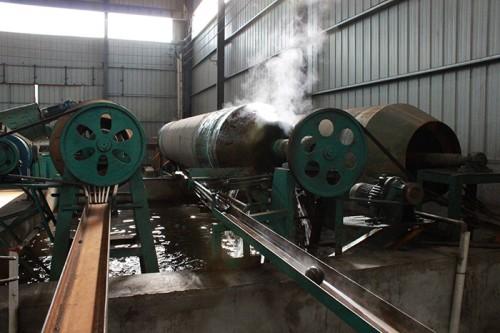 自动化研磨钢球生产线