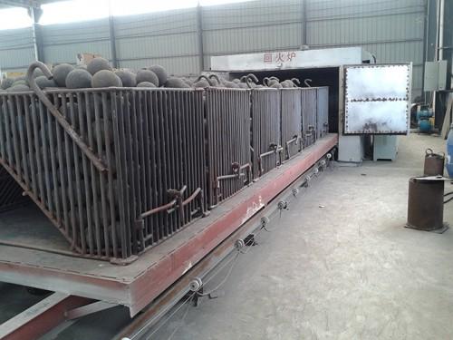 钢球生产线